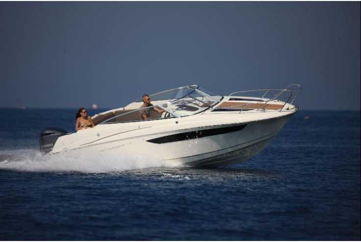 bateau JEANNEAU CAP CAMARAT 7.5 DC occasion Bouches du Rhone - PACA   52 510 €