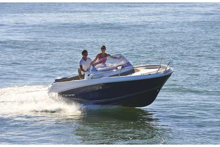 bateau JEANNEAU CAP CAMARAT 5.5 WA série² occasion Bouches du Rhone - PACA   25 280 €