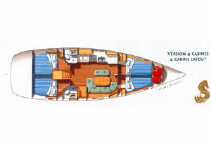 BENETEAU OCEANIS 473 - Voilier occasion 13 - Vente 125000 : photo 5