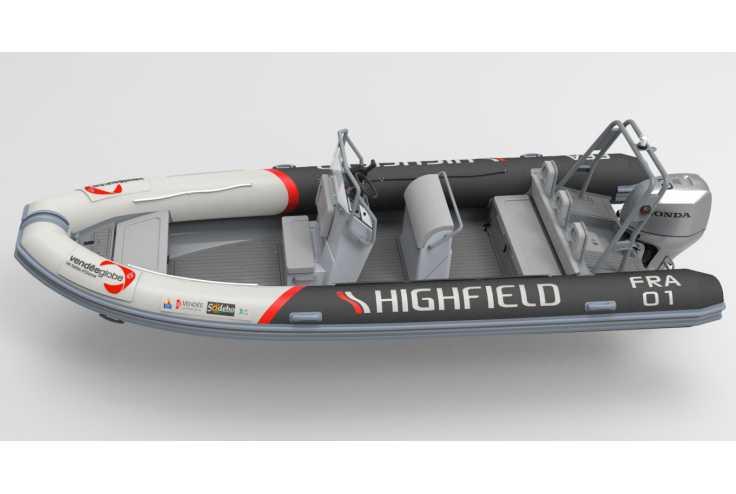 HIGHFIELD 660 - Bateau semi-rigide occasion 34 - Vente 39900 : photo 5
