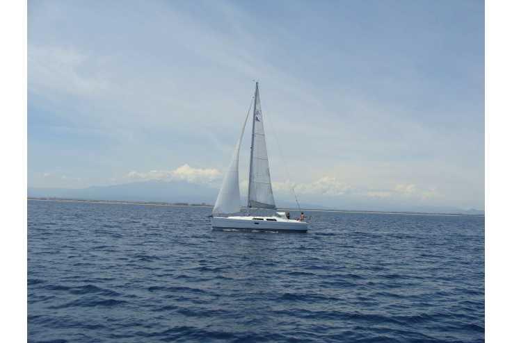 bateau HANSE 375 occasion Herault - Languedoc-Roussillon   110 000 €