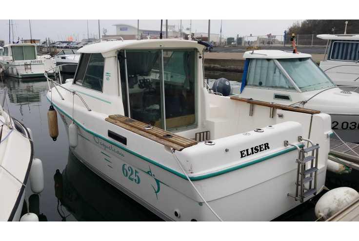 bateau OCQUETEAU 625 occasion    22 500 €