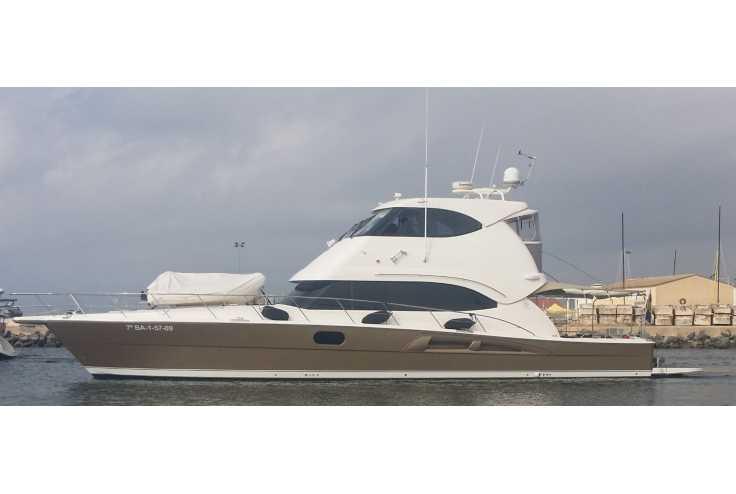 bateau RIVIERA 60 flybridge occasion Herault - Languedoc-Roussillon   900 000 €