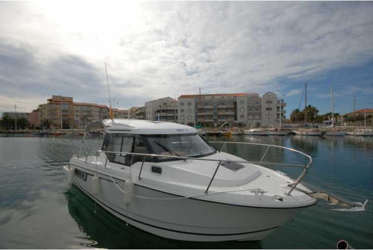 bateau JEANNEAU MERRY FISHER 795 occasion Pyrénées Orientales - Languedoc-Roussillon   57 900 €