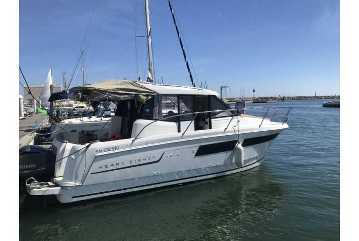 bateau JEANNEAU MERRY FISHER 855 occasion Pyrénées Orientales - Languedoc-Roussillon   67 900 €