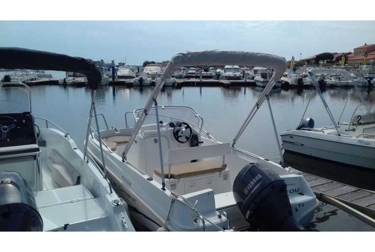 bateau JEANNEAU CAP CAMARAT 5.1 CC occasion Pyrénées Orientales - Languedoc-Roussillon   9 700 €