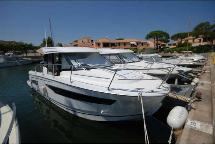 bateau JEANNEAU MERRY FISHER 895 occasion Pyrénées Orientales - Languedoc-Roussillon   117 000 €