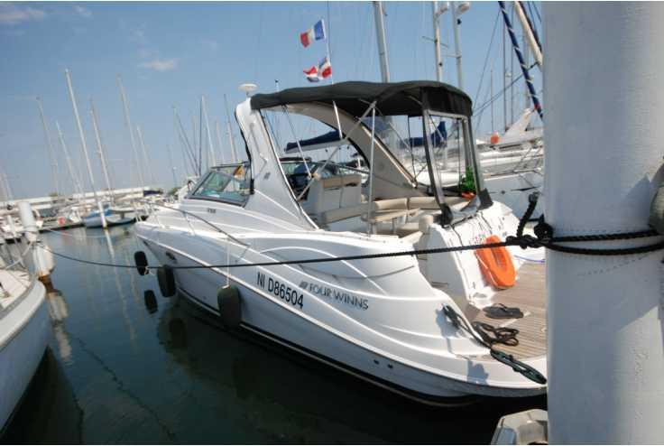 bateau FOUR WINNS Four Winns Vista 318 occasion Pyrénées Orientales - Languedoc-Roussillon   57 000 €