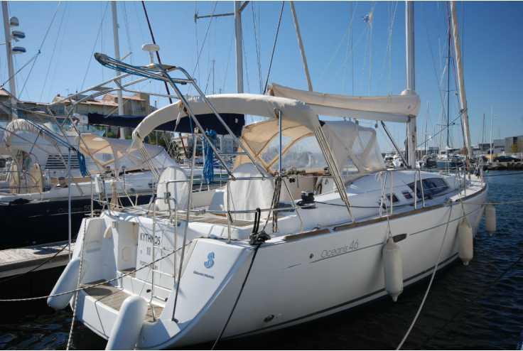 bateau BENETEAU OCEANIS 46 occasion Pyrénées Orientales - Languedoc-Roussillon   165 000 €