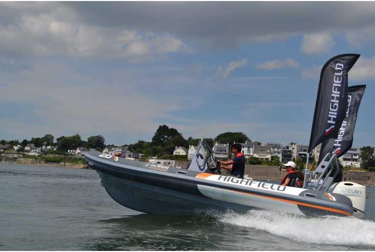 bateau HIGHFIELD PATROL 660 occasion Pyrénées Orientales - Languedoc-Roussillon   42 990 €