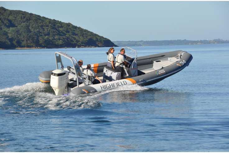 bateau HIGHFIELD PATROL 760 occasion Pyrénées Orientales - Languedoc-Roussillon   62 990 €