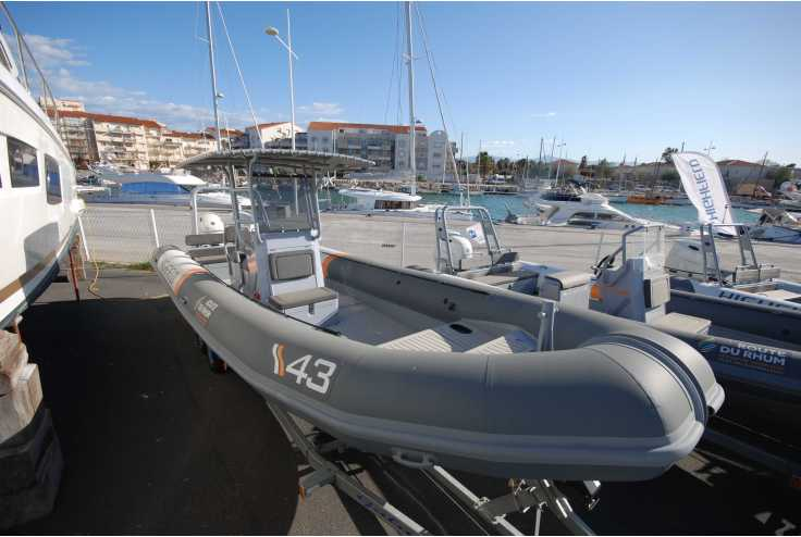 bateau HIGHFIELD PATROL 860 occasion Pyrénées Orientales - Languedoc-Roussillon   87 990 €