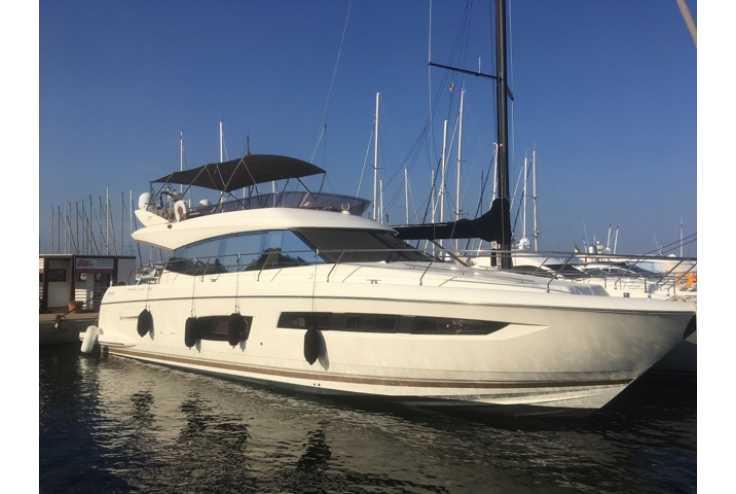bateau JEANNEAU PRESTIGE 550 occasion Pyrénées Orientales - Languedoc-Roussillon   630 000 €