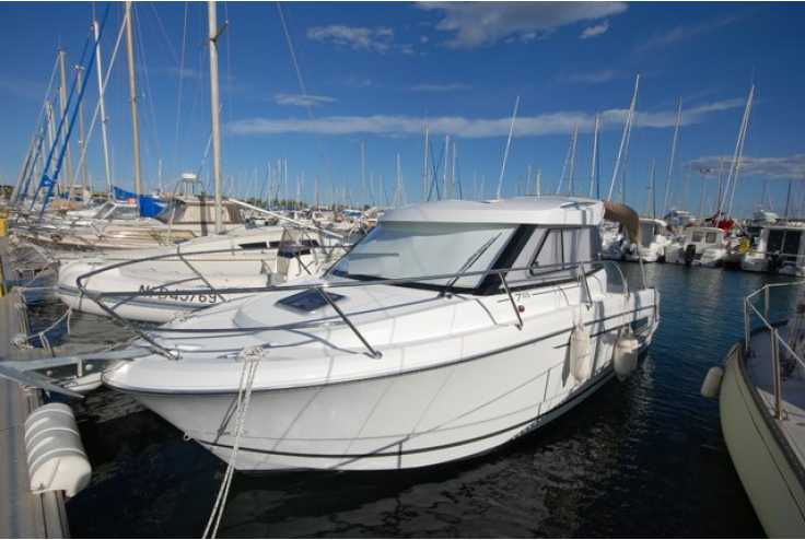 bateau JEANNEAU MERRY FISHER 755 occasion Pyrénées Orientales - Languedoc-Roussillon   53 500 €