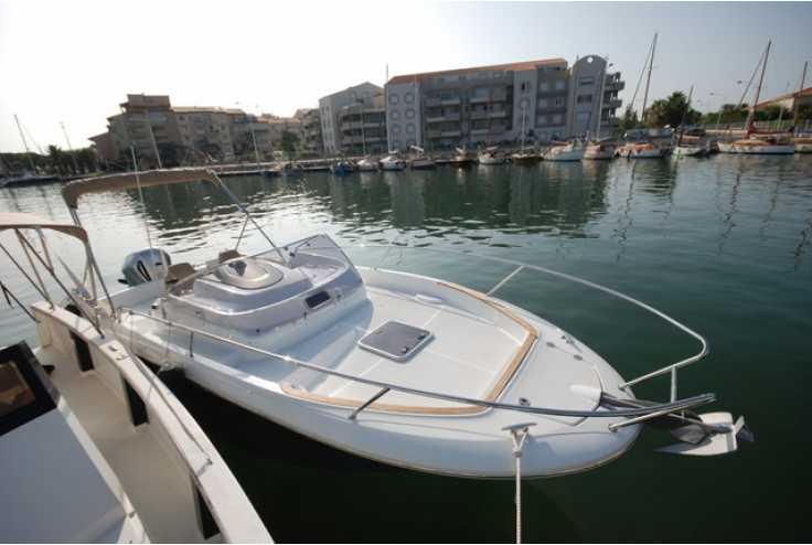 bateau JEANNEAU CAP CAMARAT 7.5 WA occasion Pyrénées Orientales - Languedoc-Roussillon   39 500 €