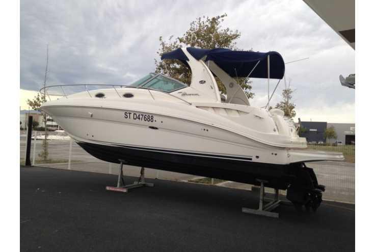 bateau SEA RAY 355 SUNDANCER occasion Pyrénées Orientales - Languedoc-Roussillon   95 000 €