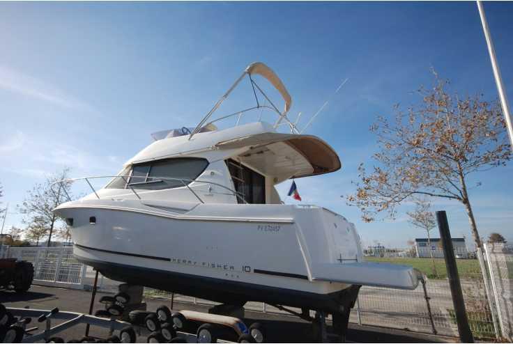 bateau JEANNEAU MERRY FISHER 10 occasion Pyrénées Orientales - Languedoc-Roussillon   89 000 €
