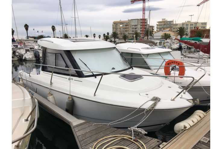 bateau JEANNEAU MERRY FISHER 645 occasion Pyrénées Orientales - Languedoc-Roussillon   24 200 €