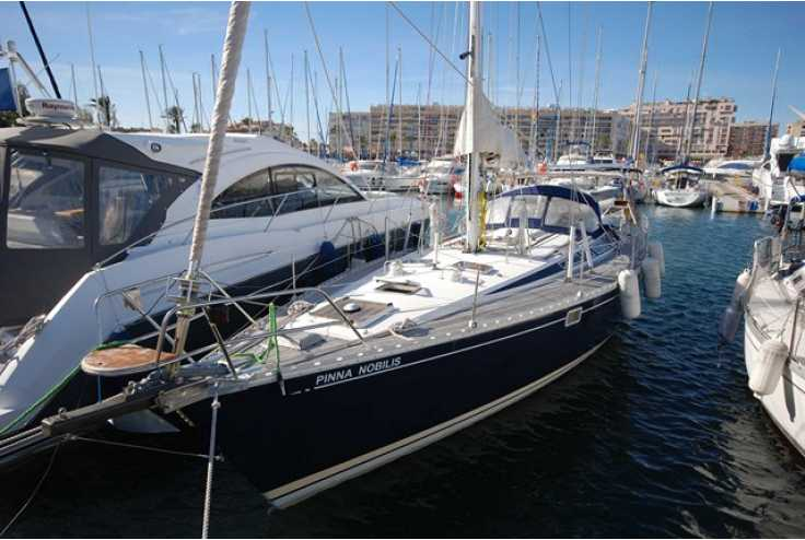 bateau JEANNEAU SUN KISS 47 occasion Pyrénées Orientales - Languedoc-Roussillon   84 000 €