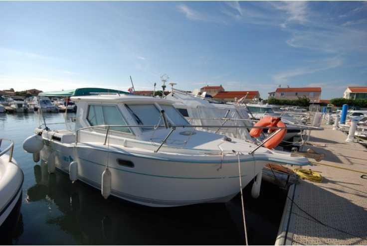 bateau OCQUETEAU ESPACE 740 occasion Pyrénées Orientales - Languedoc-Roussillon   26 500 €