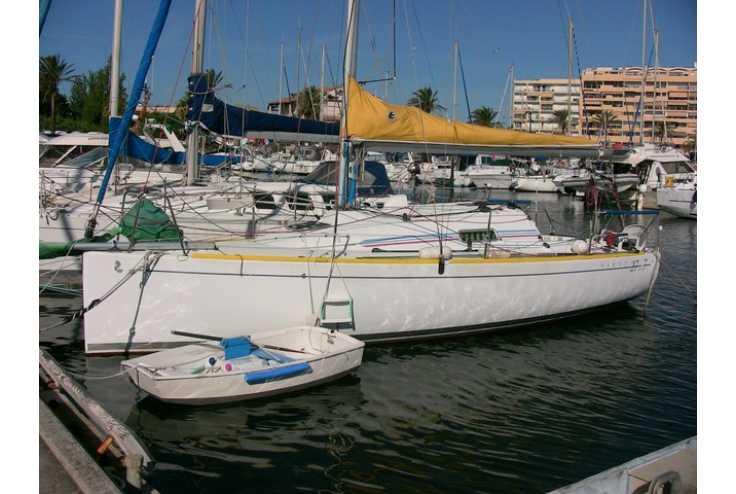 bateau BENETEAU First 27.7 occasion Pyrénées Orientales - Languedoc-Roussillon   29 700 €