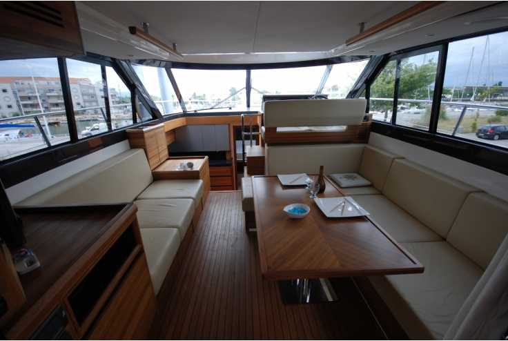 SEALINE F450 - Bateau occasion 66 - Vente 389000 : photo 3