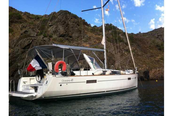 bateau BENETEAU OCEANIS 41 occasion Pyrénées Orientales - Languedoc-Roussillon   196 000 €