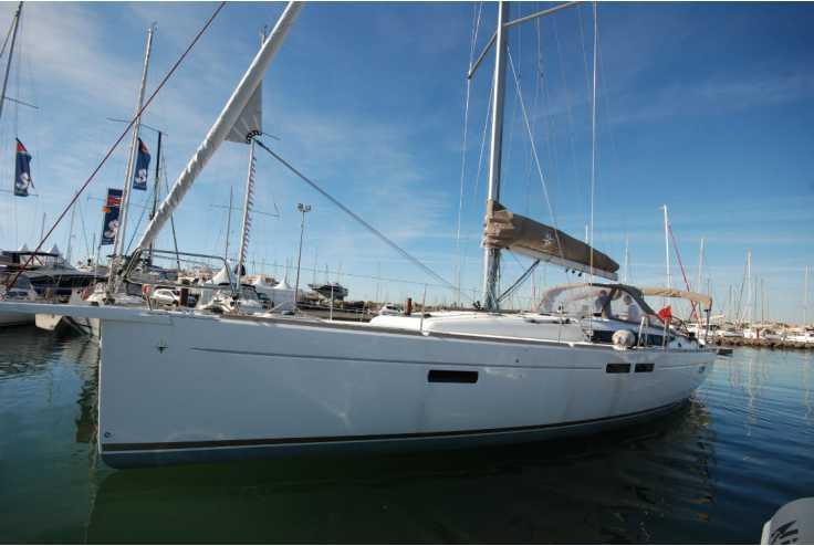 bateau JEANNEAU SUN ODYSSEY 479 occasion Pyrénées Orientales - Languedoc-Roussillon   249 000 €