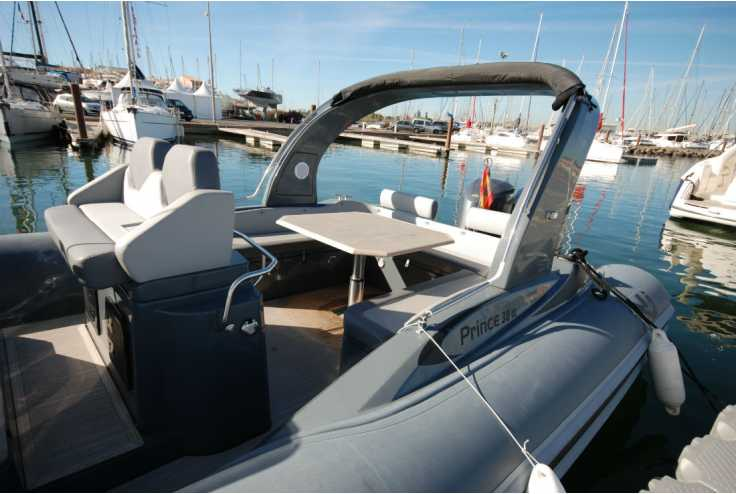 NUOVA JOLLY PRINCE 38 - Bateau semi-rigide occasion 66 - Vente 209000 : photo 7