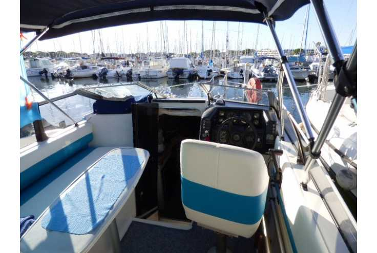 BAYLINER 2655 ciera - Bateau occasion 30 - Vente 18500 : photo 3