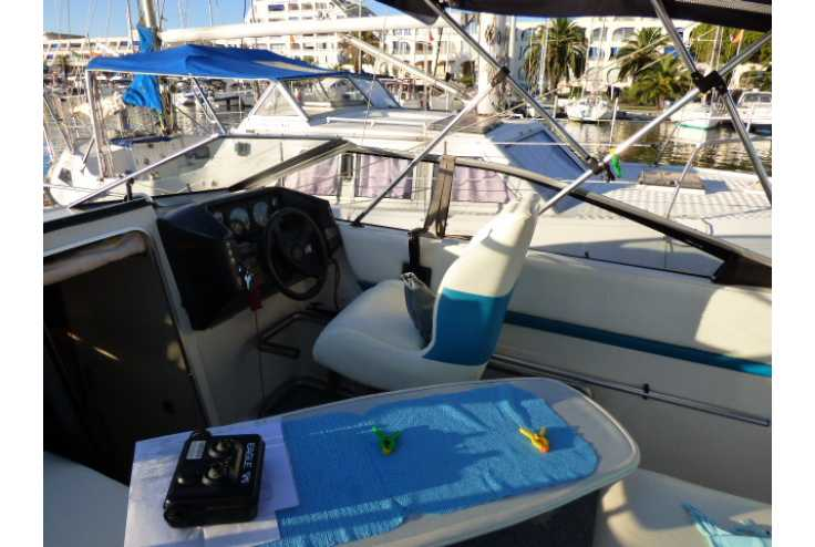 BAYLINER 2655 ciera - Bateau occasion 30 - Vente 18500 : photo 6