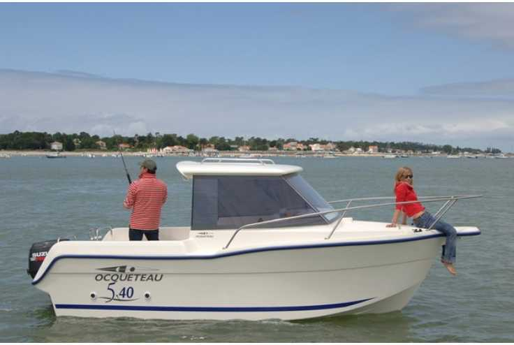 bateau OCQUETEAU 540 occasion Alpes Maritimes - PACA   22 676 €