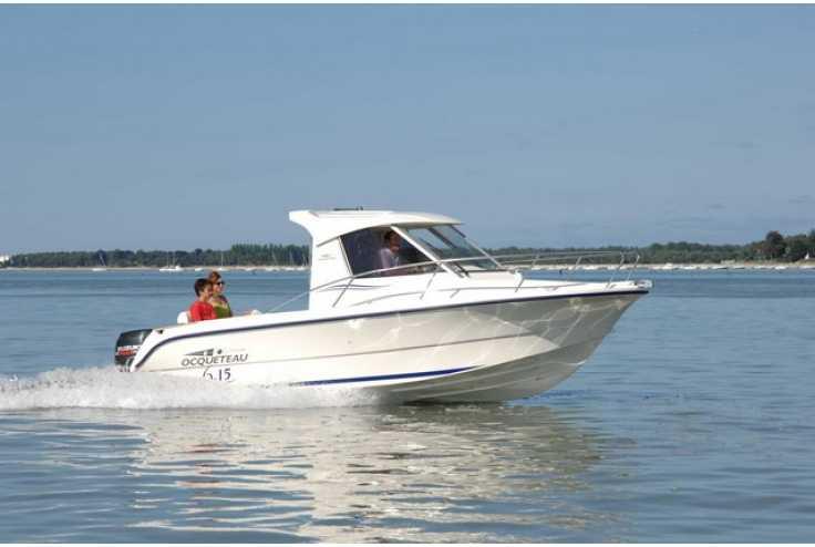 bateau OCQUETEAU 615 occasion Alpes Maritimes - PACA   36 633 €