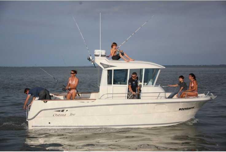 bateau OCQUETEAU Ostrea 700 occasion Alpes Maritimes - PACA   70 950 €