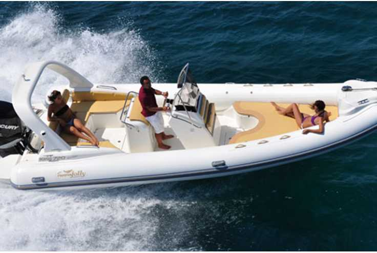 NUOVA JOLLY bateau King 720 Extreme occasion