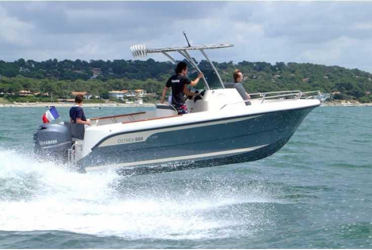 bateau OCQUETEAU OSTREA 600 T-Top occasion Alpes Maritimes - PACA   35 782 €