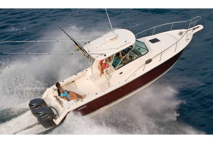 bateau PURSUIT OS 285 Offshore occasion Alpes Maritimes - PACA   205 767 �