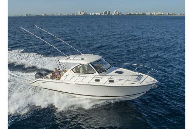 bateau PURSUIT OS 325 Offshore occasion Alpes Maritimes - PACA   389 836 €