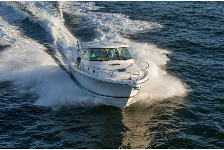 bateau PURSUIT OS 385 Offshore occasion Alpes Maritimes - PACA   683 817 €