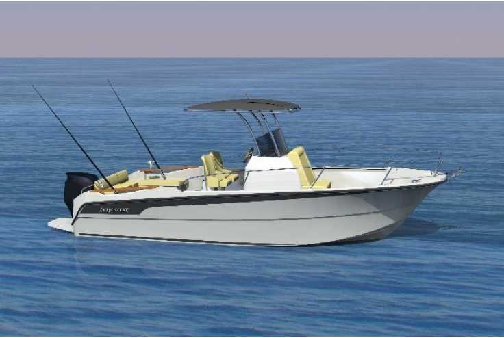 bateau OCQUETEAU Ostrea 800 T-Top occasion Alpes Maritimes - PACA   52 076 €