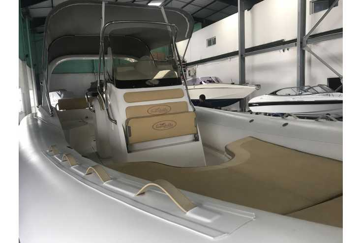 NUOVA JOLLY King 720 Extreme - Bateau semi-rigide occasion 06 - Vente 34990 : photo 5