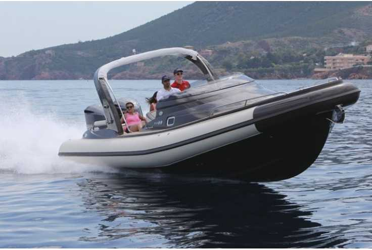NUOVA JOLLY Prince 35 Sport Cabin Outboard - Bateau semi-rigide occasion 06 - Vente 134990 : photo 10