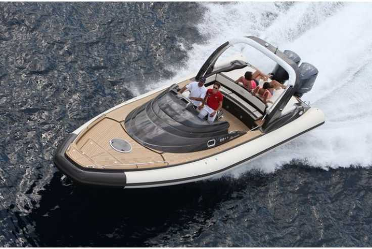 NUOVA JOLLY Prince 35 Sport Cabin Outboard - Bateau semi-rigide occasion 06 - Vente 134990 : photo 2