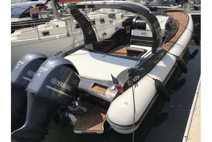 NUOVA JOLLY Prince 35 Sport Cabin Outboard - Bateau semi-rigide occasion 06 - Vente 134990 : photo 3