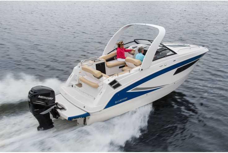 bateau GLASTRON  GS 259 OB occasion Alpes Maritimes - PACA   94 138 €