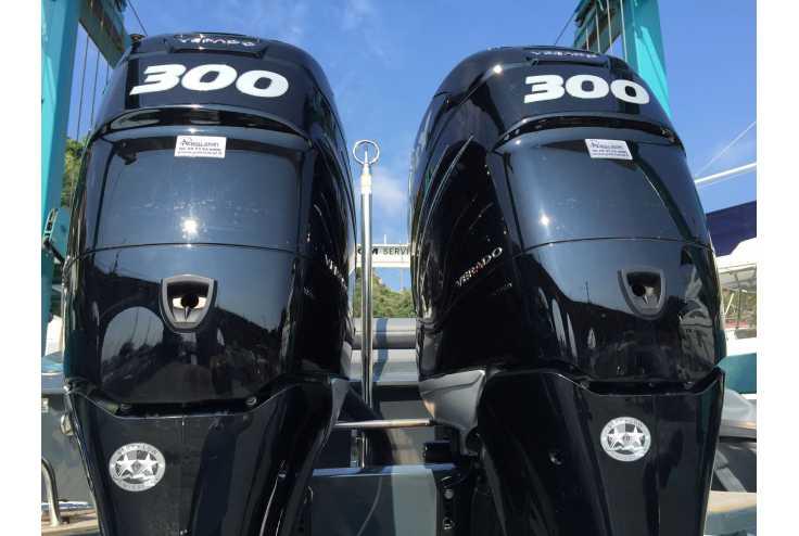 NUOVA JOLLY Prince 35 Sport Cabin Outboard - Bateau semi-rigide occasion 06 - Vente 159990 : photo 10