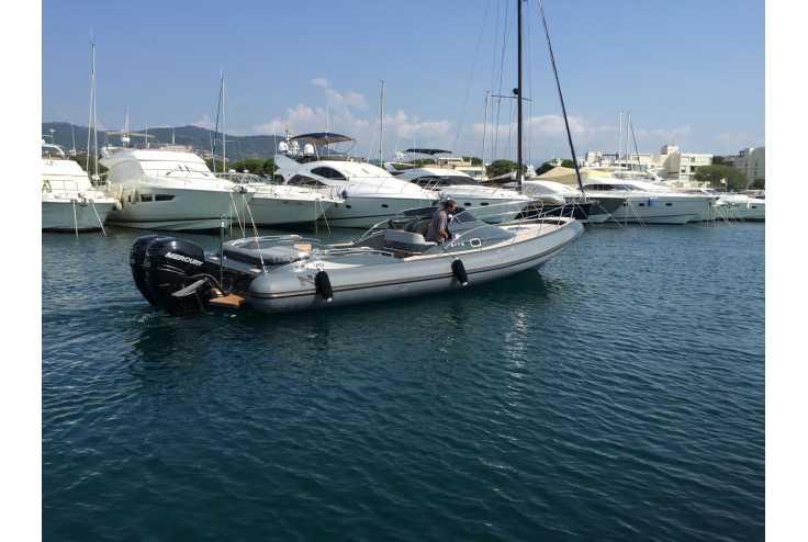 NUOVA JOLLY Prince 35 Sport Cabin Outboard - Bateau semi-rigide occasion 06 - Vente 159990 : photo 2
