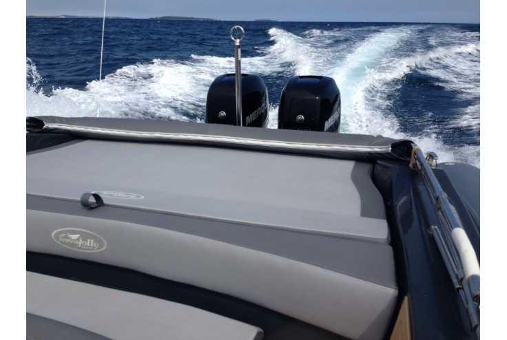 NUOVA JOLLY Prince 35 Sport Cabin Outboard - Bateau semi-rigide occasion 06 - Vente 159990 : photo 8